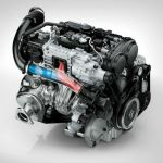 2016 Volvo V40 Engine