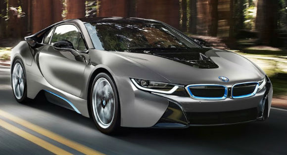 2017 BMW i8 Coupe