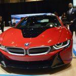 2017 BMW i8 Red