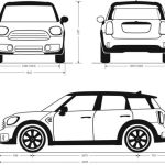 2018 Mini Countryman Dimensions