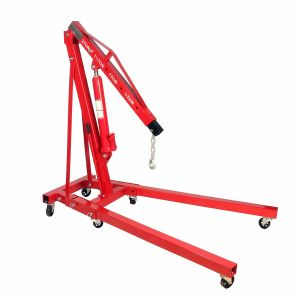 Dragway Tools 2 Ton Folding Hydraulic Engine Hoist Cherry Picker