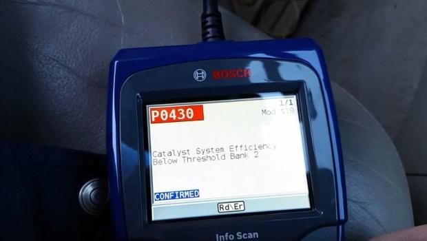 Error Code P0430