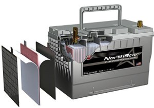 NorthStar Ultra High Performance Group 31 Battery Structure