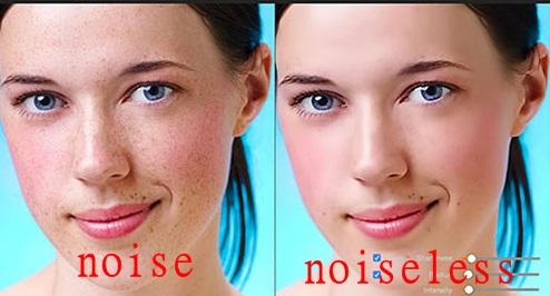 how to make noiseless image on mac