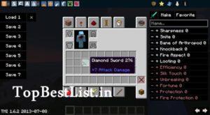 tomanyitems mod of minecraft