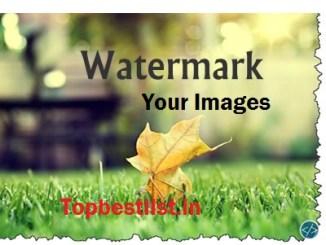 add watermark