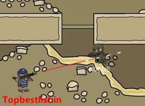 Mini militia fly through wall + dual gun modded apk