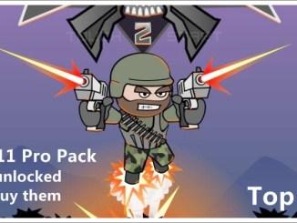 Free download Mini Militia Pro Pack 4.0.11 Latest Version apk