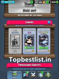 trick to get a legendary card