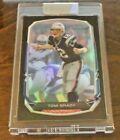 2013 Bowman Black Rainbow Foil #50 Tom Brady Encased/ Selling for $50 on
