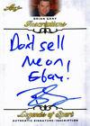 "Leaf Brian Gray ""Dont sell me on Ebay"" Signed 2015 Legends of Sport I"
