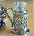 Glass Stein Charm ~THIS IS THE ONLY ONE SELLING ON EBAY Sterling-Stamped-