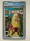 Thing #15 CGC 9.4 W Pgs (1983 1st Series), only graded copy selling on ebay!