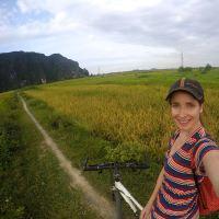 Overnight trip from Hanoi: Bike riding in Ninh Binh