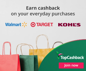 Earn cash back on your everyday purchases with TopCashback