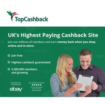 TopCashbackイギリス