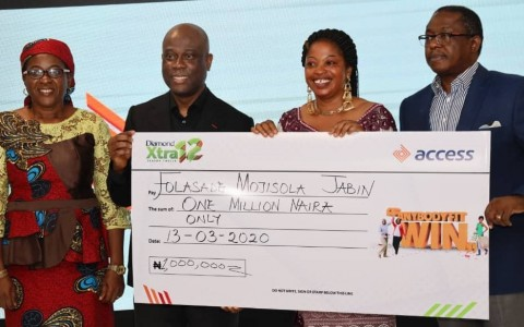 Access Bank Plc on Wednesday splashed N87.74 million on over 1,000 customers who emerged winners at the second quarterly draw of DiamondXtra Season 12 reward scheme. Mr Rob Giles, the bank's Head, Retail Product Insight and Capabilities, said the winners emerged five categories. He said the categories were: Salary-4-Life, Rent Allowance for a year, N1million […]