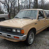 1986 NISSAN DATSUN 720 PICK UP TRUCK NAPS Z28 for sale: photos, technical specifications