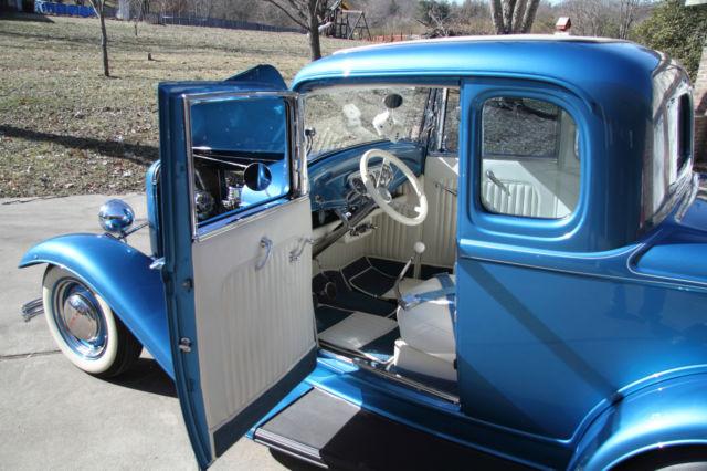 1932 Ford 5 Window Coupe Fiberglass Fenders Steel Body True Nostalgic Hot Rod For Sale