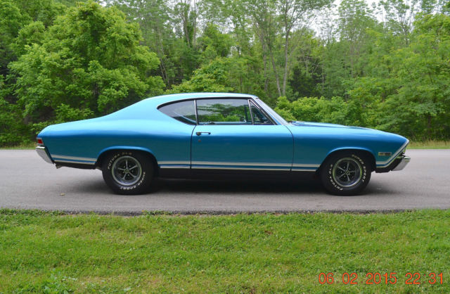 Chevelle 396 Coupe 1968 Ss Hardtop Chevrolet