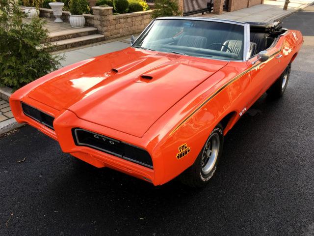 1968 Pontiac Gto Judge Hd