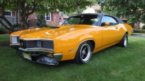 1971 FORD MERCURY MONTEGO CYCLONE GT MUSCLE SHOW CAR for