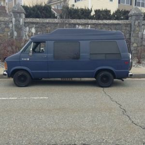 1990 Dodge B250 RAM Conversion Van for sale: photos