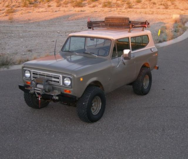 Arizona International Harvester Scout Ii Convertible V8