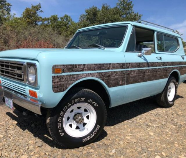 Fully Restored International Scout Ii No Reserve