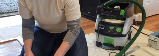 A Festool DTS400 Sander Reduces Labor in My Love of Painting