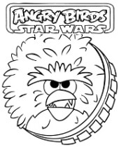 Chewbacka Angry Birds