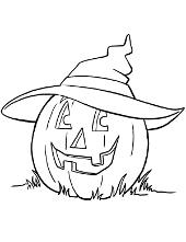Halloween pumpkin colouring books