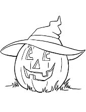 Halloween pumpkin coloring books