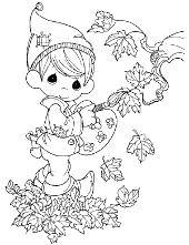 Autumn leaves kids