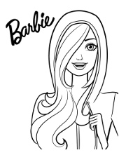 Printables with Barbie doll
