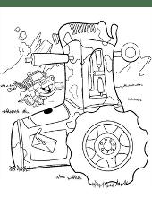 Tractor car mini