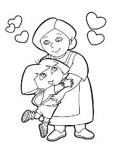 Dora and grandma