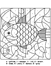Stained glass coloring