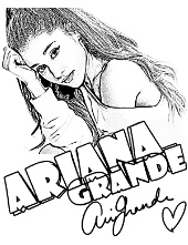 Ariana Grande to color for free