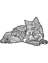 Coloring pages with animals