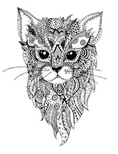 Kitties to color