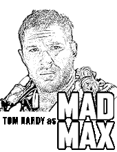 Mad Max Coloring pages for free