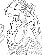 Bad character coloring pages