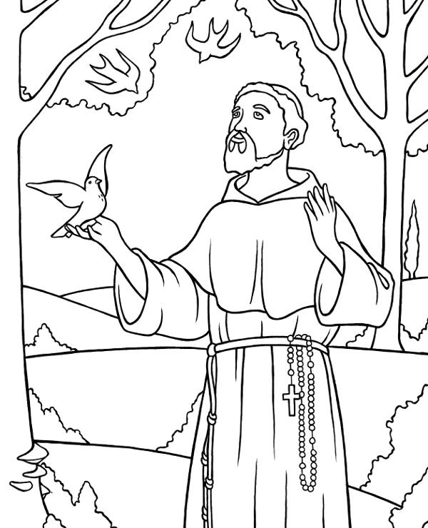 Biblical characters to print and color