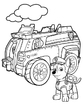 Paw Patrol Coloring Pages For Free Topcoloringpages Net