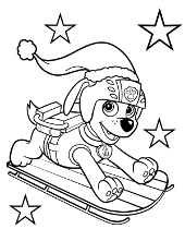 Winter with Paw Patrol