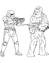 Printable Star Wars Coloring Pages Topcoloringpages Net