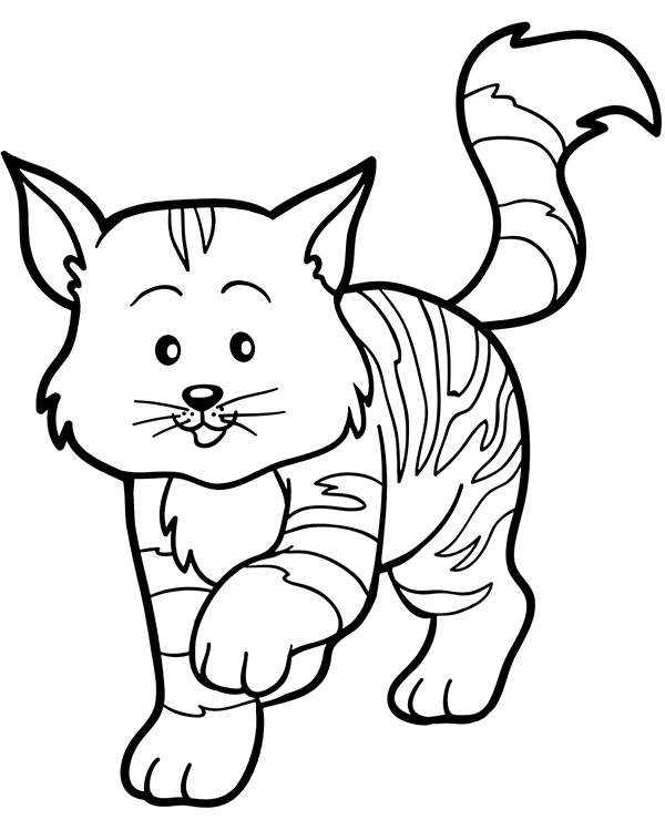 Free Printables Cat Coloring Pages For Kids