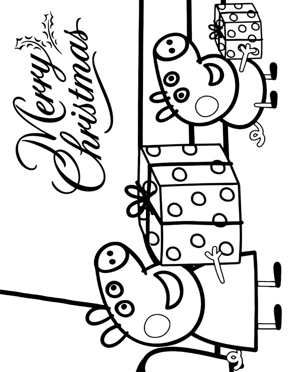 christmas card coloring pages # 53