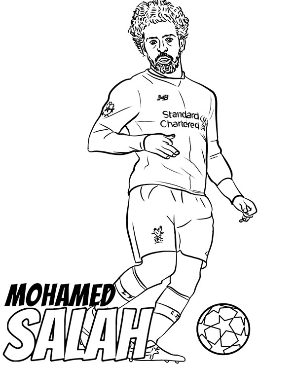 football player coloring page # 53